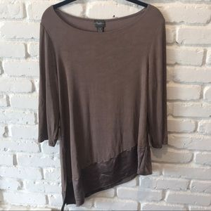 Travelers by Chico's brown top.  Lightweight!